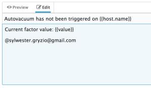 Defining Datadog alert message